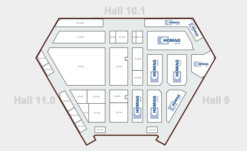 Homag City térkép