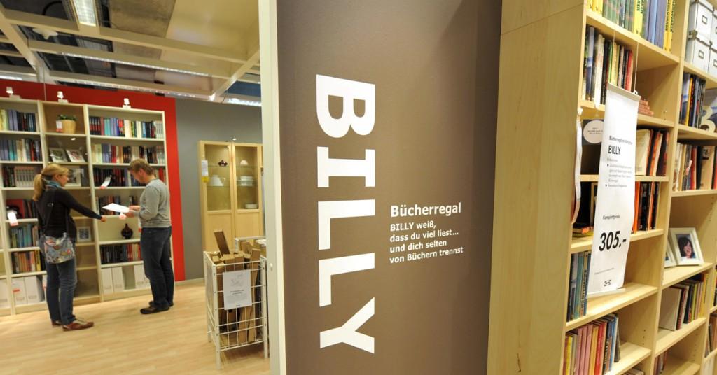 Ikea könyvespolc billy