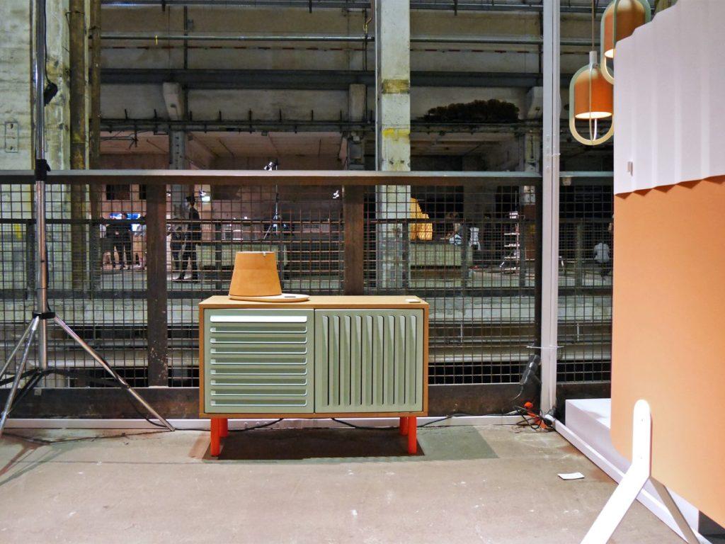 Codolagni Lido kisszekrény a Kraftwerk Berlin egyik csarnokában. Fotó: The Iconist