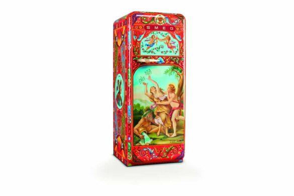 SMEG hűtő - Dolce Gabbana