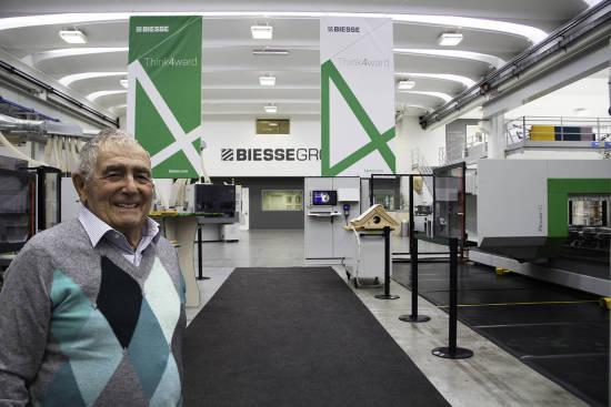 Giancarlo Selzi, a Biesse alapítója