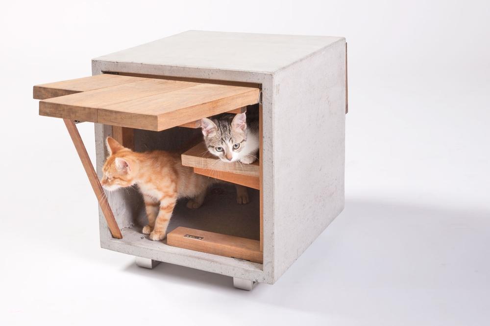Macska házikó