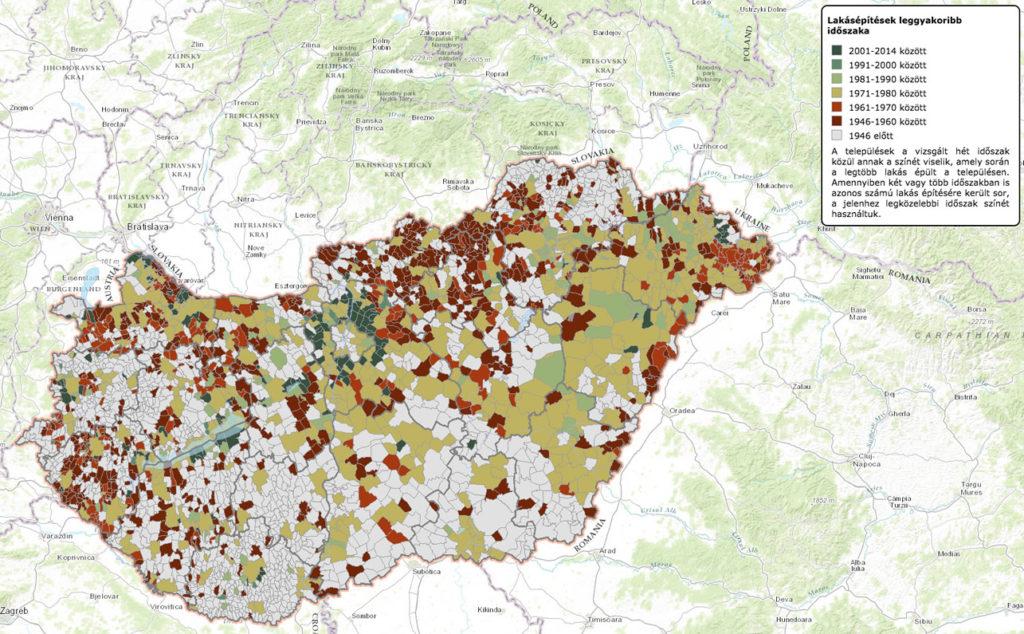 Hol lakik a magyar?