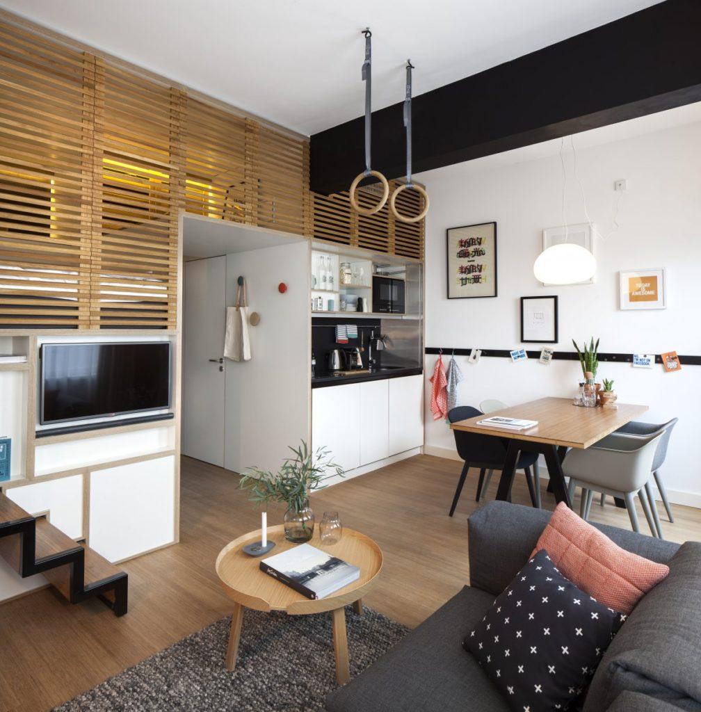 Mikro lakás: élet 25 négyzetméteren